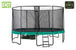EXIT Supreme All-in-1 trampoline - 457 cm - donkergroen