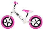 Loopfiets Broozzer Extreme Rider - wit - roze
