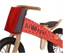 Loopfiets Broozzer Extreme Racer - rood