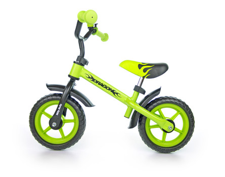 Milly Mally loopfiets Dragon - neon groen
