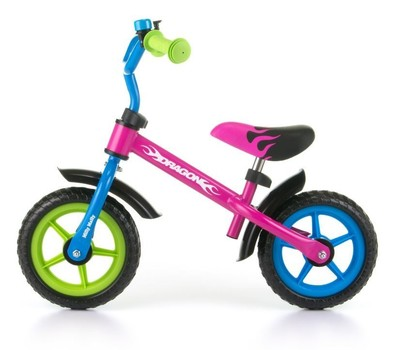 Milly Mally loopfiets Dragon - Multicolour