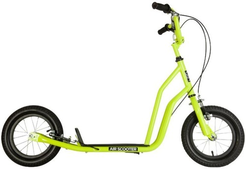 "Stiga Air scooter - 12"" - limegroen"