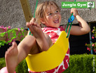 Sling Swing Kit - Yellow - Jungle Gym
