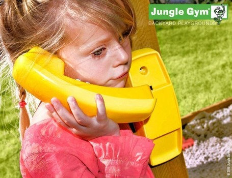 Fun Phone - Yellow - Jungle Gym