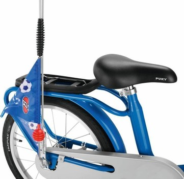 Puky vlag fiets en step - SW 3 - blauw