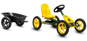 Buddy John Deere + trailer + trekhaak - 1