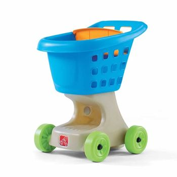 Step2 Little Helpers Shopping Cart - blauw