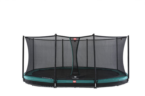 BERG InGround Grand Favorit 520 x 345 + Safety Net Comfort 520 x 345 - groen