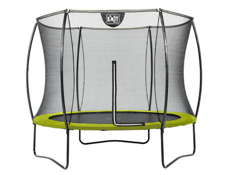 EXIT Silhouette trampoline - 244 cm - lime