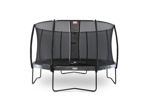 BERG Elite 430 + Safety Net Deluxe 430 - Airflow springmat - grijs + Levels game