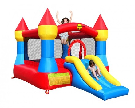 Happy Hop Castle Bouncer met glijbaan
