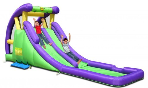 Happy Hop Double Water Slide