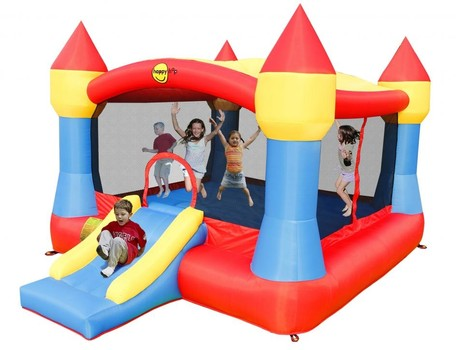 Happy Hop Super Castle Bouncer with Slide