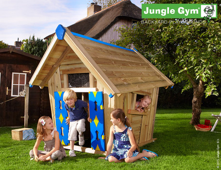 Speelhuis Jungle Gym Crazy Playhouse