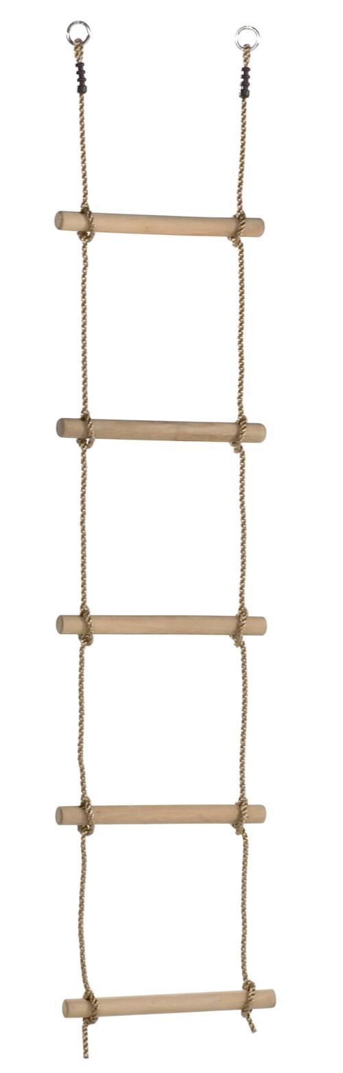 Touwladder houten sporten - PP (1,95m) - 5 sporten