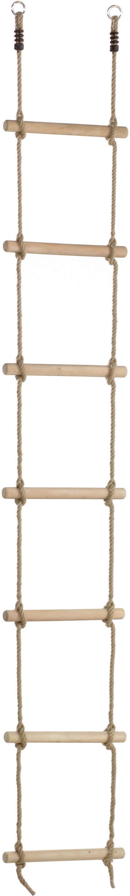 Touwladder houten sporten - PH - 3.0 m (2.45 m) - 7 sporten