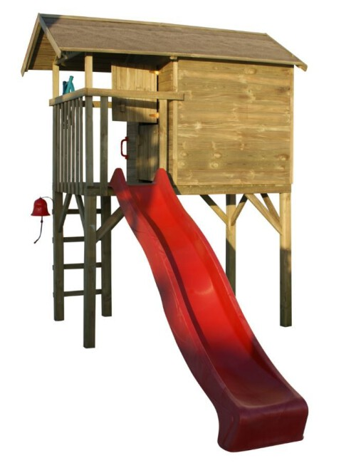 Houten speelhuis Treehut - Prestige Garden