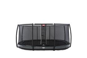 BERG Grand Elite InGround Grey + Safety Net Deluxe
