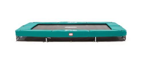 BERG InGround Ultim Champion 330 x 220 - Airflow springmat - groen