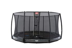 BERG Elite InGround Levels Grey + Safety Net Deluxe