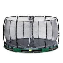 InGround ronde trampoline groen 427 cm - 1