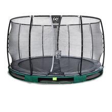 InGround ronde trampoline groen 366 cm - 1