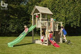 Penthouse houten speelhuis - 2