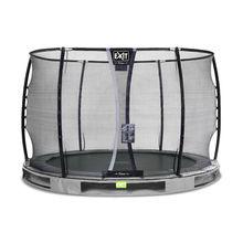 InGround ronde trampoline grijs - 1