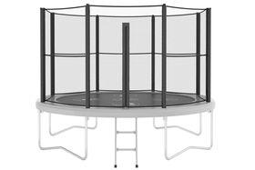 Elph9170 - Ronde trampoline met net - 1