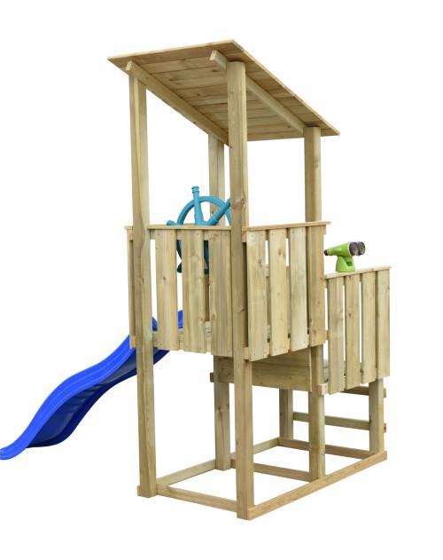 Prixma houten speeltoren Piraat