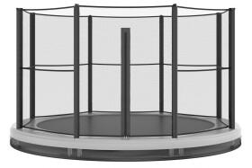 Akrobat Orbit Inground Trampoline 244 Antraciet 3