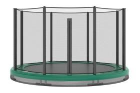 Akrobat Orbit Inground Trampoline 305 Groen, incl. veiligheidsnet