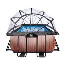 exit-wood-zwembad-400x200x122cm-met-overkapping-en-zandfilterpomp-bruin4