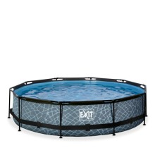 exit-stone-zwembad-o360x76cm-met-filterpomp-de-versie-grijs